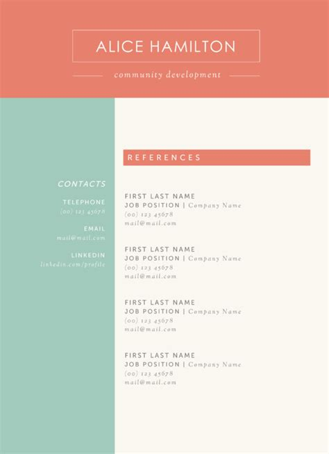 the alice resume