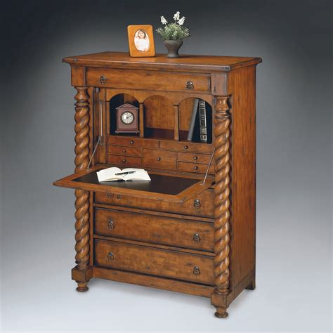 desk with hutch and drawers furniture rustic secretary desk with hutch glass door and