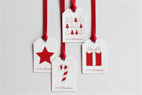 Enjoy These 12 Gift Cards On Us - 34 festive and fun diy christmas gift tags