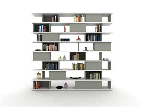 librerie zalf libreria a giorno modulare z401 by zalf