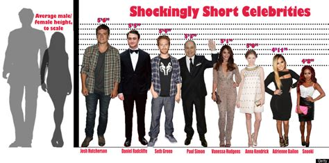 celebrity 6 feet tall the most shockingly short celebrities huffpost