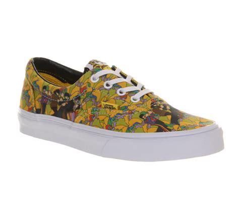 Jual Vans Era The Beatles womens vans era the beatles garden true white lace up trainers shoes ebay