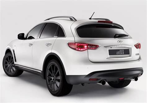 infiniti fx50 2016 infiniti fx limited edition line unveiled autoevolution
