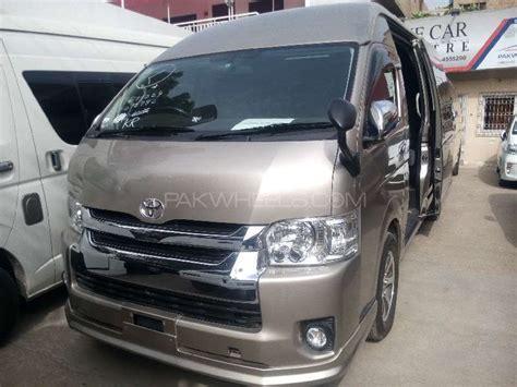 grand cabin toyota hiace grand cabin 2014 for sale in karachi pakwheels