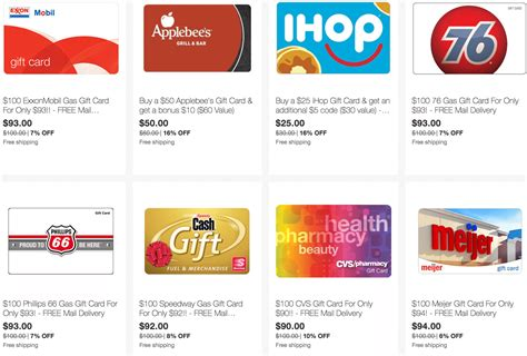 Svm Gift Cards - ebay save on gift cards for gas restaurants and more doctor of credit