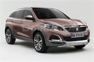 Peugeot 3008 Crossover 2016 Peugeot 3008 Render Shows Transition To Crossover