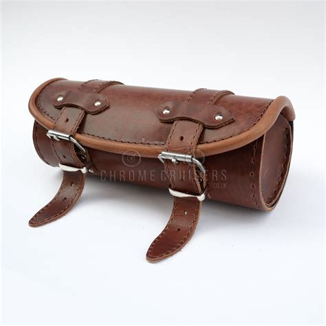 Leather Roll harley davidson unique brown leather tool roll bag pouch gift ebay