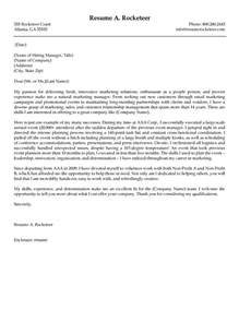 Cover Letter For Marketing by B2b Marketing Manager Cover Letter