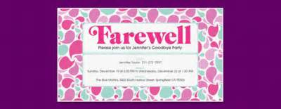 Going away quotes going away party invitations wording slowrest com