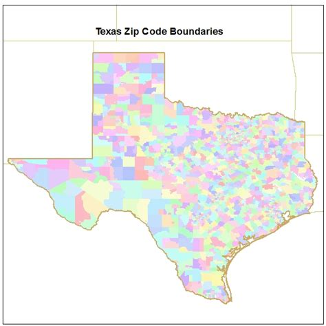 texas map by zip code tx zip code map pictures to pin on pinsdaddy