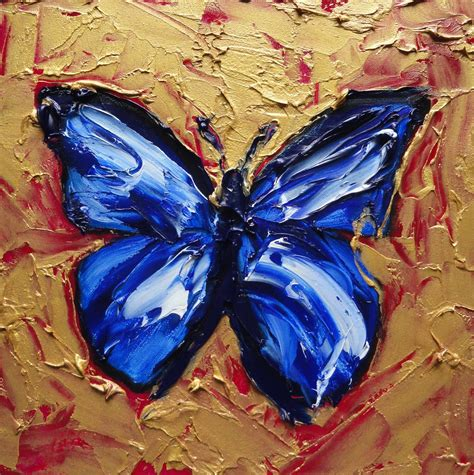 painting butterfly butterfly paintings on butterfly painting
