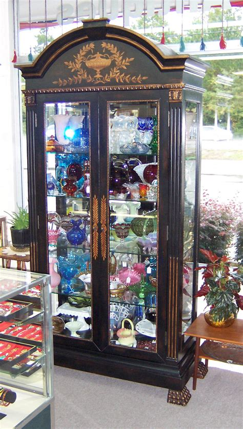 black china cabinet with glass doors triple a resale black china cabinet with glass in doors