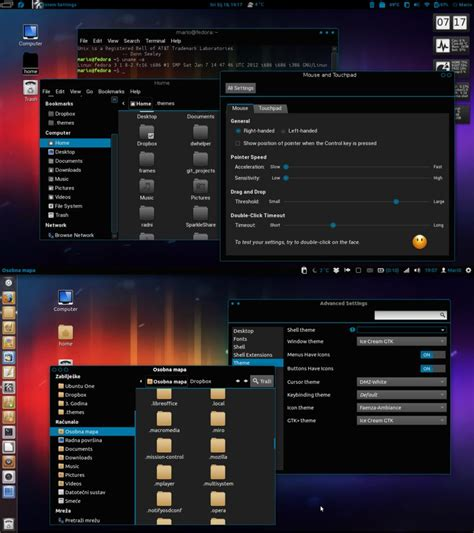 themes gnome mate awesome gtk themes for linux mint 15 some even better