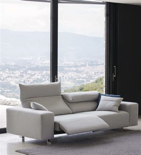 italian recliner sofa best italian sofas home design