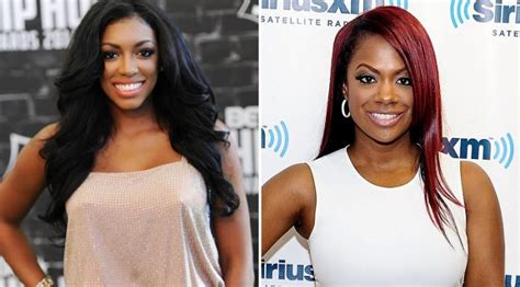 porsha williams weight gain porsha williams kandi burruss almost fight while filming