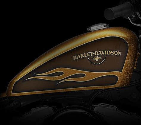 Motorrad Gabel Gold Lackieren by Harley Davidson Sportster Forty Eight 2016 Features