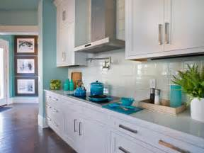 Glass Tile For Kitchen Backsplash Ideas coastal kitchen with a white subway tile backsplash the kitchen at the