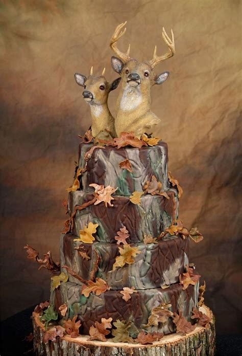 hochzeitstorte jagd camo wedding cakes toppers pictures ideas