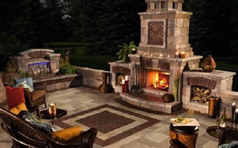 tuscan outdoor fireplace the tuscany collection area landscape supply