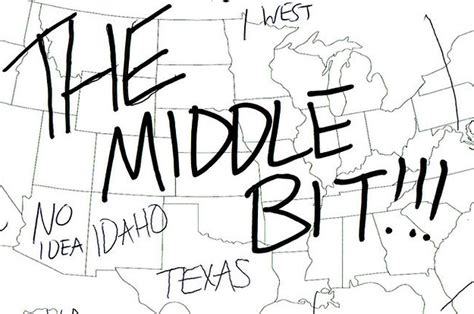 Because We Asked by We Asked Brits To Label The United States Again Because