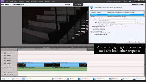 tutorial adobe premiere elements tutorial como exportar en adobe premiere elements 11 youtube