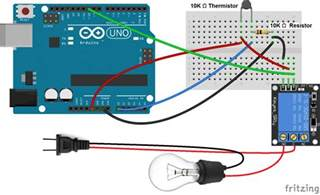 make an arduino temperature sensor thermistor tutorial