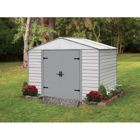8x5 Shed by Arrow 8x5 Viking Vinyl Coated Steel Shed Kit Vvcs85