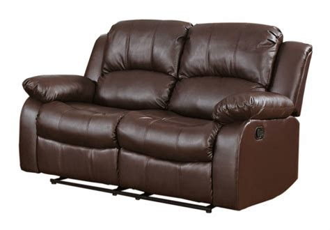 leather reclining sets reclining sofa loveseat and chair sets two seat reclining