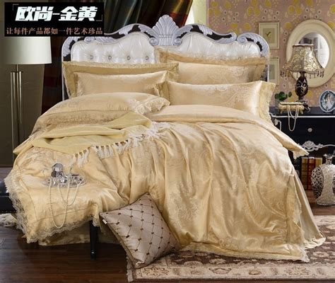 aliexpress com buy luxury designer girls gold bedding