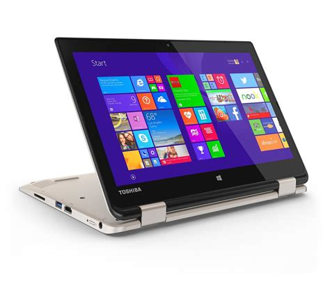 toshiba satellite radius 11 convertible is a cheap 2 in 1 device with a 360 degree hinge