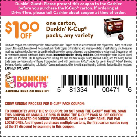 food restaurant coupons printable dunkin donuts fast food coupons printable coupons online