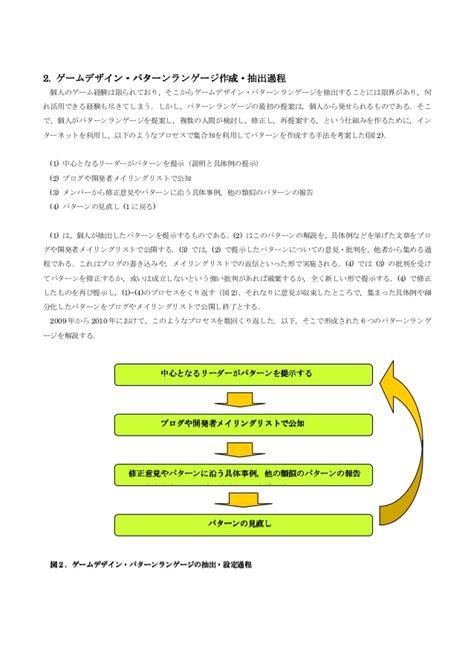 game design languages game design pattern language