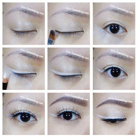Eyeliner White white liner makeup style guru fashion glitz