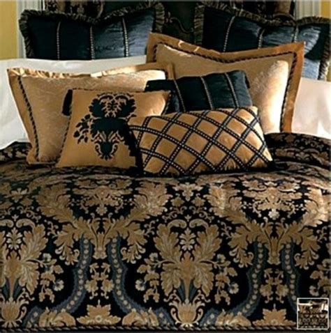 royal comforter sets new classic royal black gold luxurious comforter set king