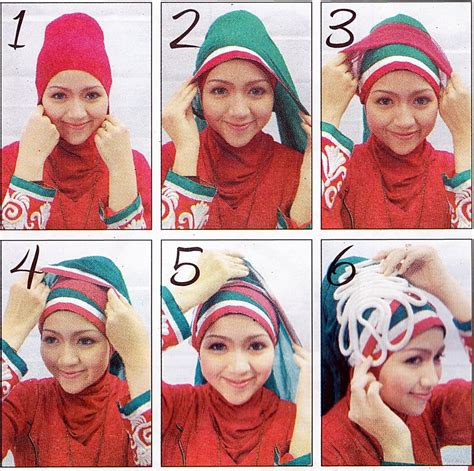 tutorial turban lapis hijabers tutorial sakinah tutorial tips jilbab simple