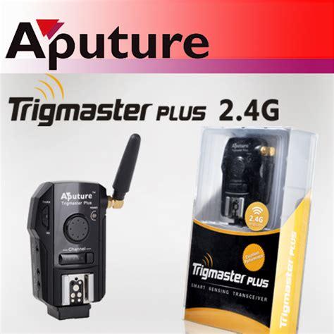 Aputure Trigmaster Plus 2 4g Tx1c aputure trigmaster plus 2 4g smart sensing transceiver
