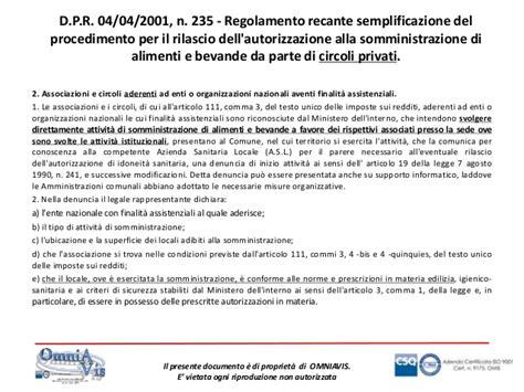 licenza di somministrazione alimenti e bevande attivit 192 di somministrazione di alimenti e bevande