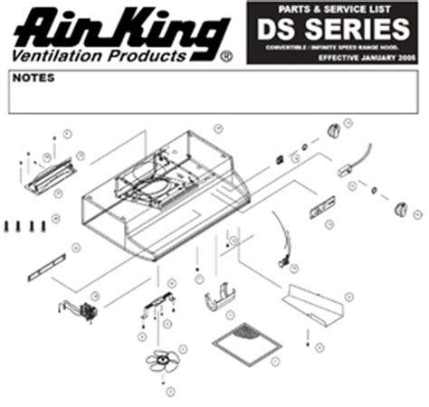 air king fan parts 5s4199002 air king range hood fan blade air king hq