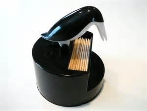 toothpick dispenser fun vintage retro penguin toothpick holder dispenser