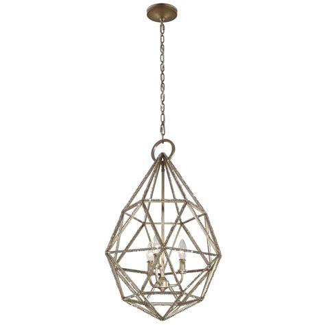 Silver Pendant Lighting Feiss Lighting Marquise Burnished Silver Pendant Light P1312bus Destination Lighting