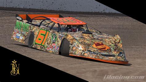 orange camo race cars dirt late model stoner camo by brandon leimkuhler