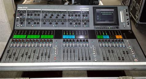Mixer Allen Heath Ilive allen heath ilive t112 image 1019096 audiofanzine