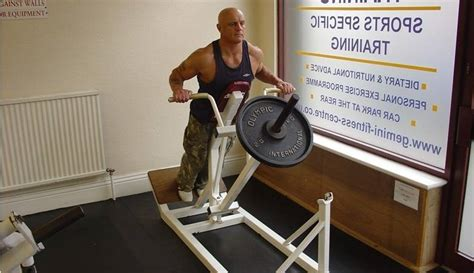 supported  bar row bodybuilding wizard