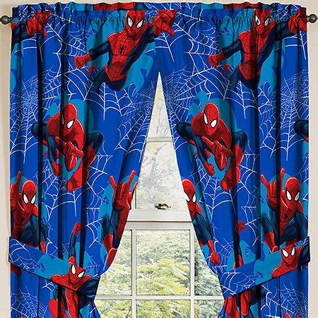 spiderman curtains marvel ultimate spiderman spider man panels drapes