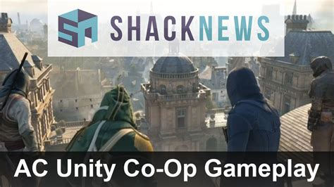 unity tutorial co op assassins creed unity exclusive co op gameplay youtube
