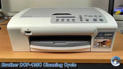 Baru Printer Dcp 135c Dcp 135c How To Do A Cleaning Cycle