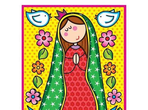imagenes de la virgen maria animados caricatura de virgen maria imagui