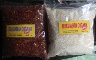 beras organik putih merah hitam