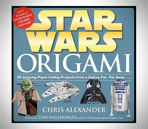 Wars Origami Book Series - the 50 greatest wars gifts in the galaxy hiconsumption