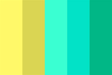 electric color palette